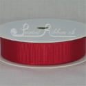 22MM RED GROSGRAIN RIBBON