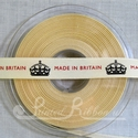 15mm Made In Britain ribbon, 20 metre roll