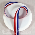 15mm Red, White & Blue Stripe Ribbon for Jubilee and Olympics - British colours