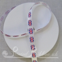10mm Union Jack Ribbon, 50m roll for games and events