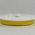 BRIGHT YELLOW 10mm Grosgrain Ribbon