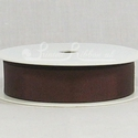 BROWN 22mm Grosgrain Ribbon