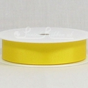 BRIGHT YELLOW 22mm Grosgrain Ribbon