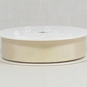 CREAM 22mm Grosgrain Ribbon