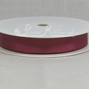 BURGUNDY 22mm Grosgrain Ribbon