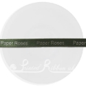 10mm Olive Green, Sage Green custom printed personalised bespoke printed double faced satin ribbon 25m roll