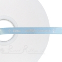 LIGHT BLUE 10mm printed ribbon, persolalised ribbon, 50m