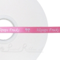 10mm personalised printed satin ribbon HOT PINK ribbon 50m