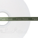 10mm personalised printed satin ribbon SAGE ribbon 50m
