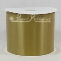 GOLD 100mm Satin Ribbon roll