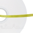 7mm BRIGHT YELLOW Bespoke custom printed satin ribbon 50m roll