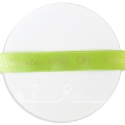 15mm LIME GREEN wedding ribbon with customized print