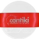 38mm Bright Red printed ribbon 50m