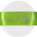 38mm Lime Green personlised, printed ribbon 50m
