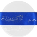 38mm Royal Blue personlised, printed ribbon 50m