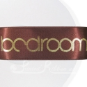 38mm brown personalised, bespoke, printed ribbon 50m