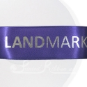 38mm Purple personalised, bespoke, printed ribbon 50m