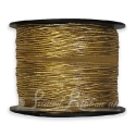 Metallic GOLD elastic ribbon supplied on 100m roll