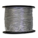 Metallic SILVER elastic ribbon supplied on 100m roll