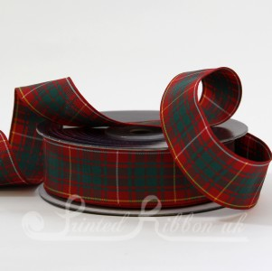 TAR25BRC20 Bruce Clan classic tartan ribbon 25mm x 20m roll