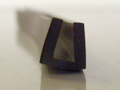 BRS 30 Square Channel Rubber Section