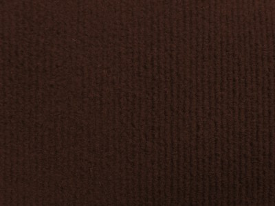 Brown Needlecord Wall Carpet