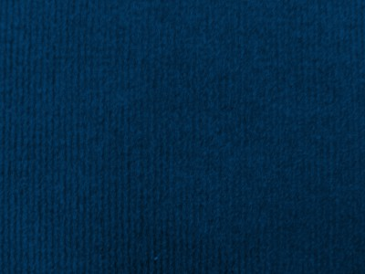 Navy Blue Needlecord Wall Carpet