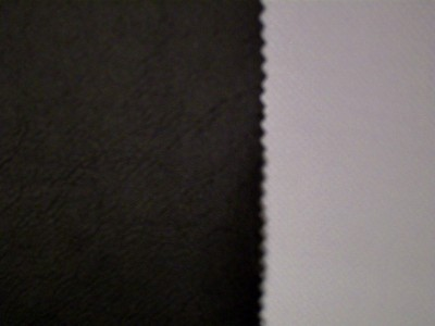Black (Grey Backing) Marine PVC Hooding