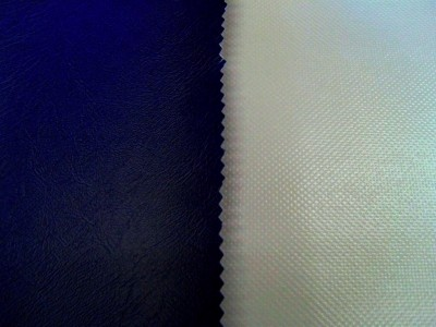 Navy (Grey Backing) Marine PVC Hooding
