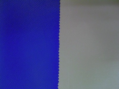 Royal Blue (Grey Backing) Marine PVC Hooding - Satin Finish