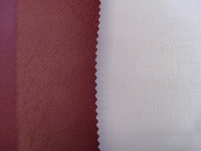 Maroon (Grey Backing) Marine PVC Hooding