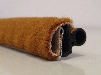 Cinnamon / Tan Moquette Draught Excluder
