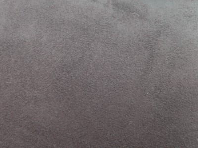 Charcoal Faux Suede Foam Backed Fabric F1242