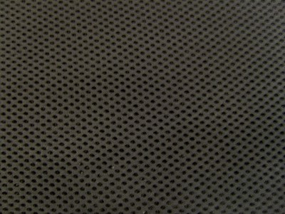 Black Foam Backed Spacer Fabric - Perfect F1300