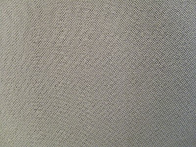 VW Uni Classic Grey Foam Backed Fabric - Seconds F1319