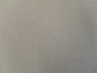VW Flannel Grey Satin Foam Backed Fabric - Seconds F1325
