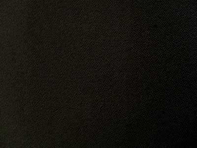 VW Solo Elastin Black Foam Backed Fabric - Seconds F1330