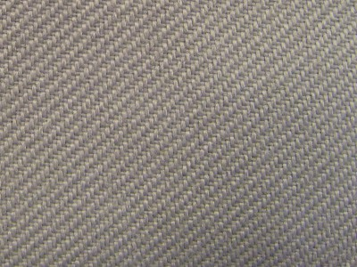 VW Uni Flannel Grey Foam Backed Fabric - Seconds F1317