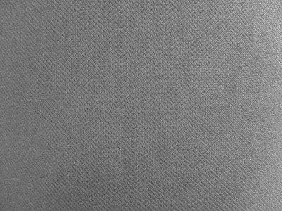 VW Uni Art Grey Foam Backed Fabric - Seconds F1320