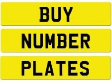 Buy Number Plates Here