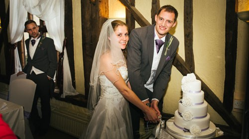 Laura + Andrew at Cantley House Hotel, Wokingham