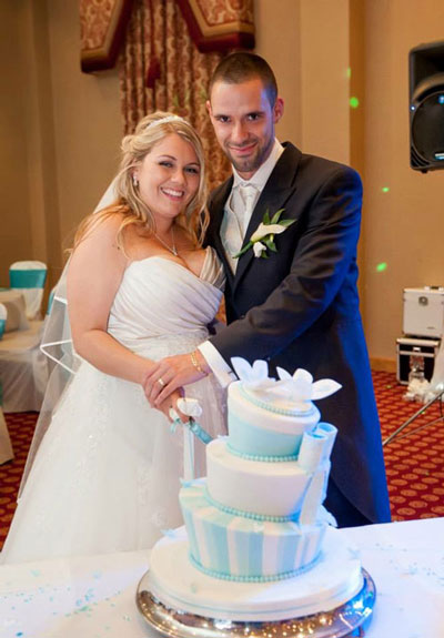 Laura + Paul at the Hampshire Court Hotel