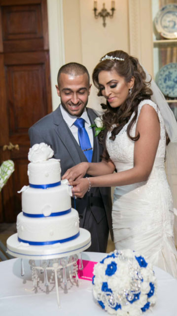 Aneela + Saleem at Stoke Park