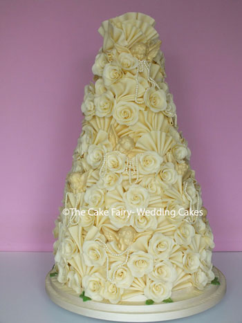 RC24 CHOC ROSES AND PEARLS - A 5 tier tower of chocolate delight