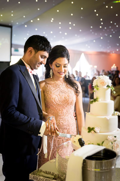 Dhara + Pratik at Trunkwell House