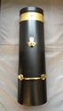 Black and Brass Chimney