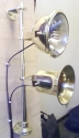 Brass Tunnel Lamp and Horn Set for Cratch Fitting