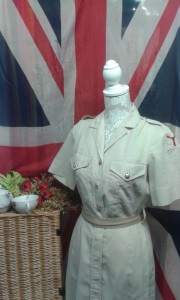 1940`s Ladies Army dress