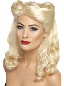 1940`s pin up Blonde wig