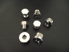 Boxer Stainless Steel Filler & Drain Plug Set